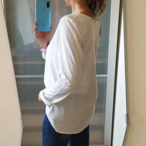 Camiseta Blanca Lisa [2]