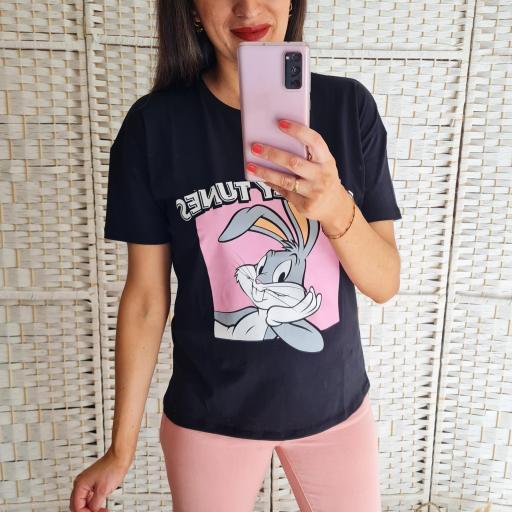 Camiseta Bugs Bunny [0]