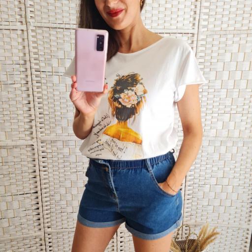 Camiseta Busto Mostaza [1]