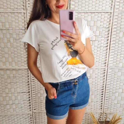 Camiseta Busto Mostaza [2]