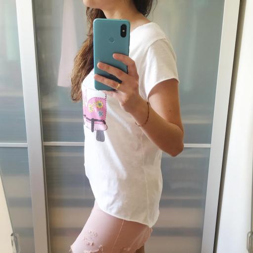 Camiseta Caravana Rosa [2]