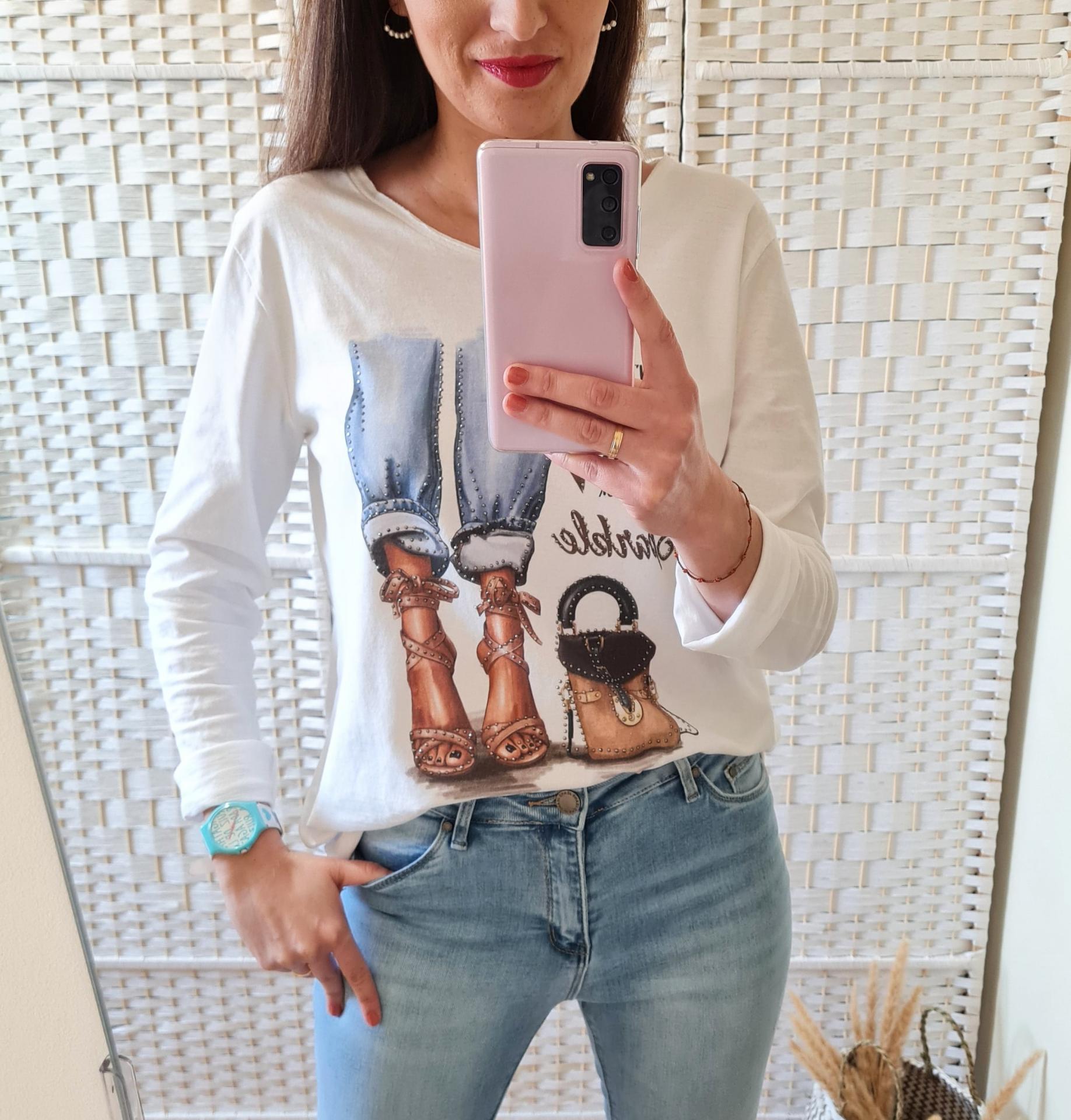 Camiseta Glamour