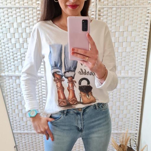 Camiseta Glamour [0]