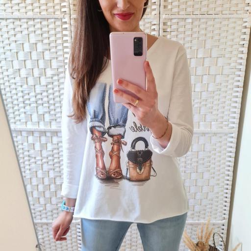 Camiseta Glamour [1]