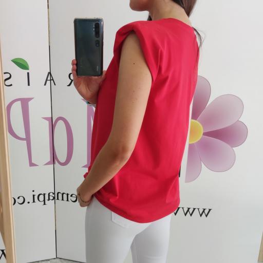 Camiseta Hombreras Roja [2]