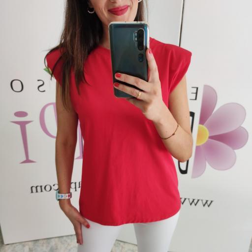 Camiseta Hombreras Roja [3]