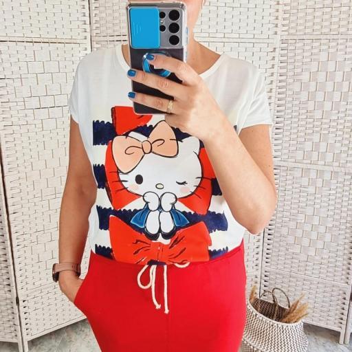 Camiseta Kitty [0]