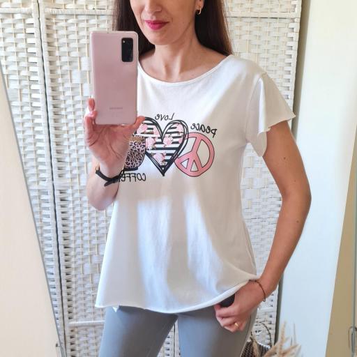 Camiseta Love Coffee [2]