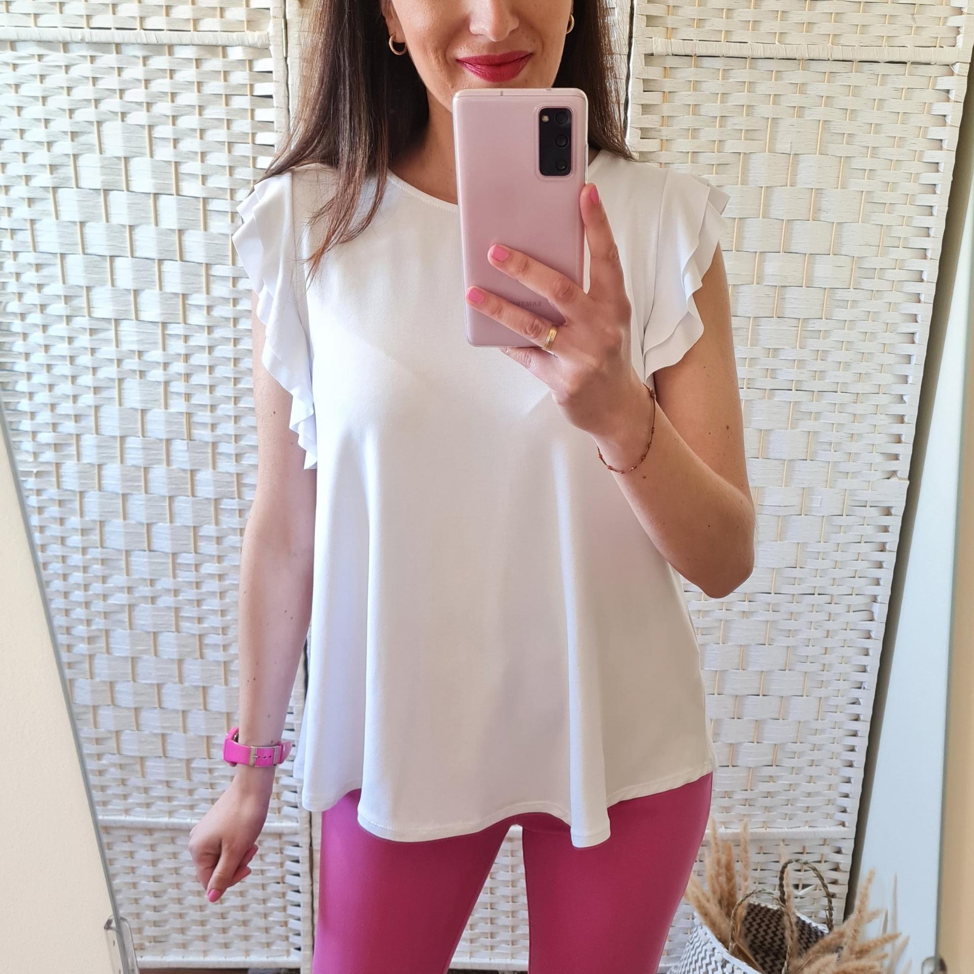 Camiseta Narine Blanca