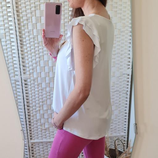 Camiseta Narine Blanca [2]