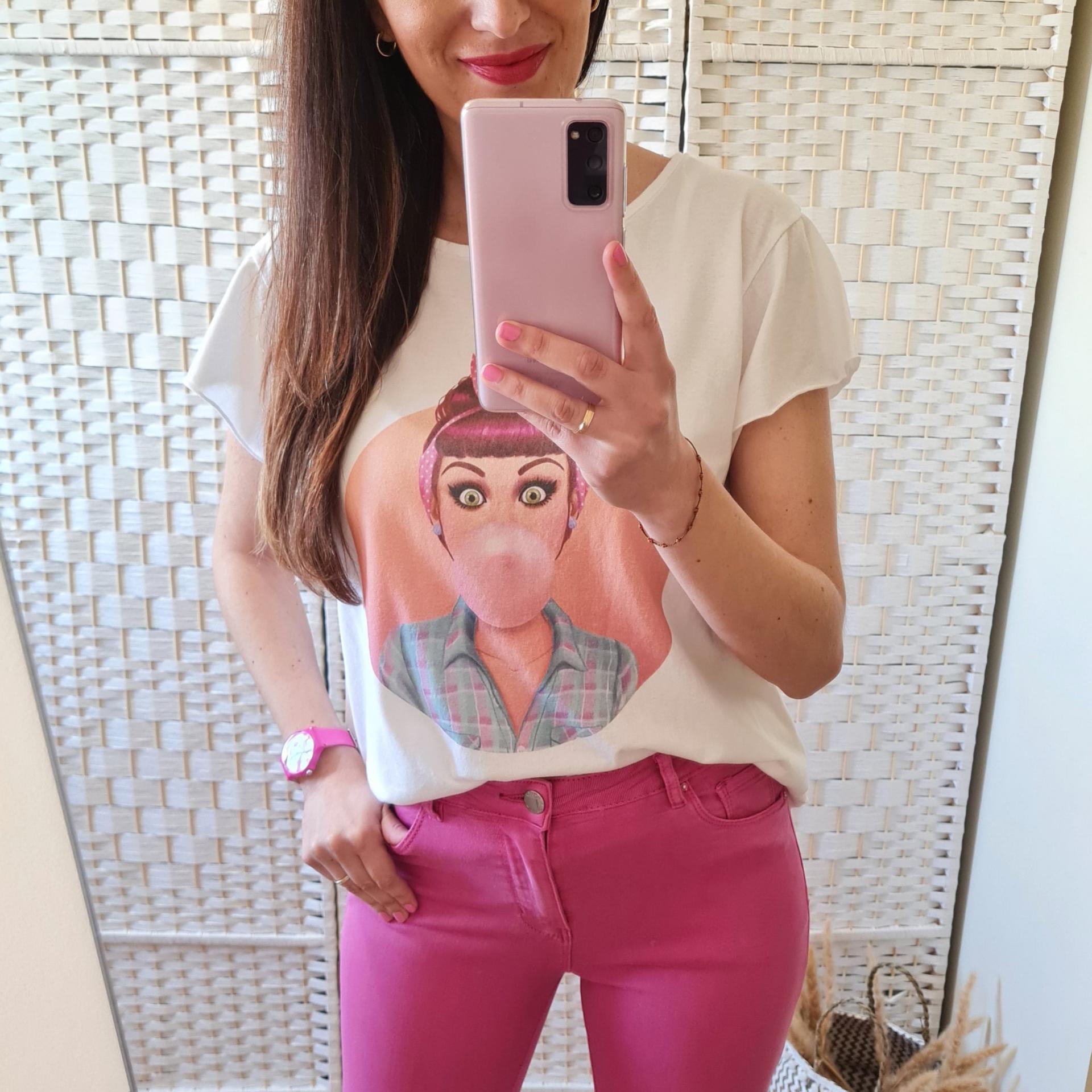 Camiseta Pin Up