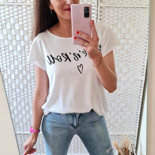 Camiseta Rock'n'Roll Blanca [3]