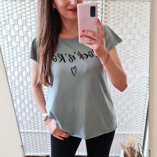 Camiseta Rock'n'Roll Gris [1]