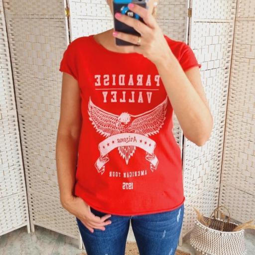 Camiseta Roja Paradise [1]