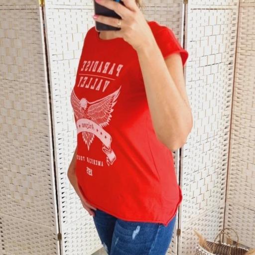 Camiseta Roja Paradise [2]
