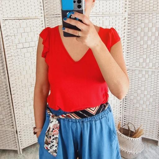 Camiseta Roja Volante [0]