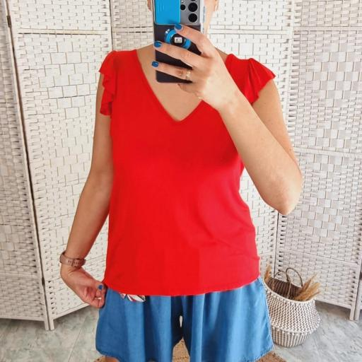 Camiseta Roja Volante [1]