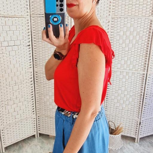Camiseta Roja Volante [3]