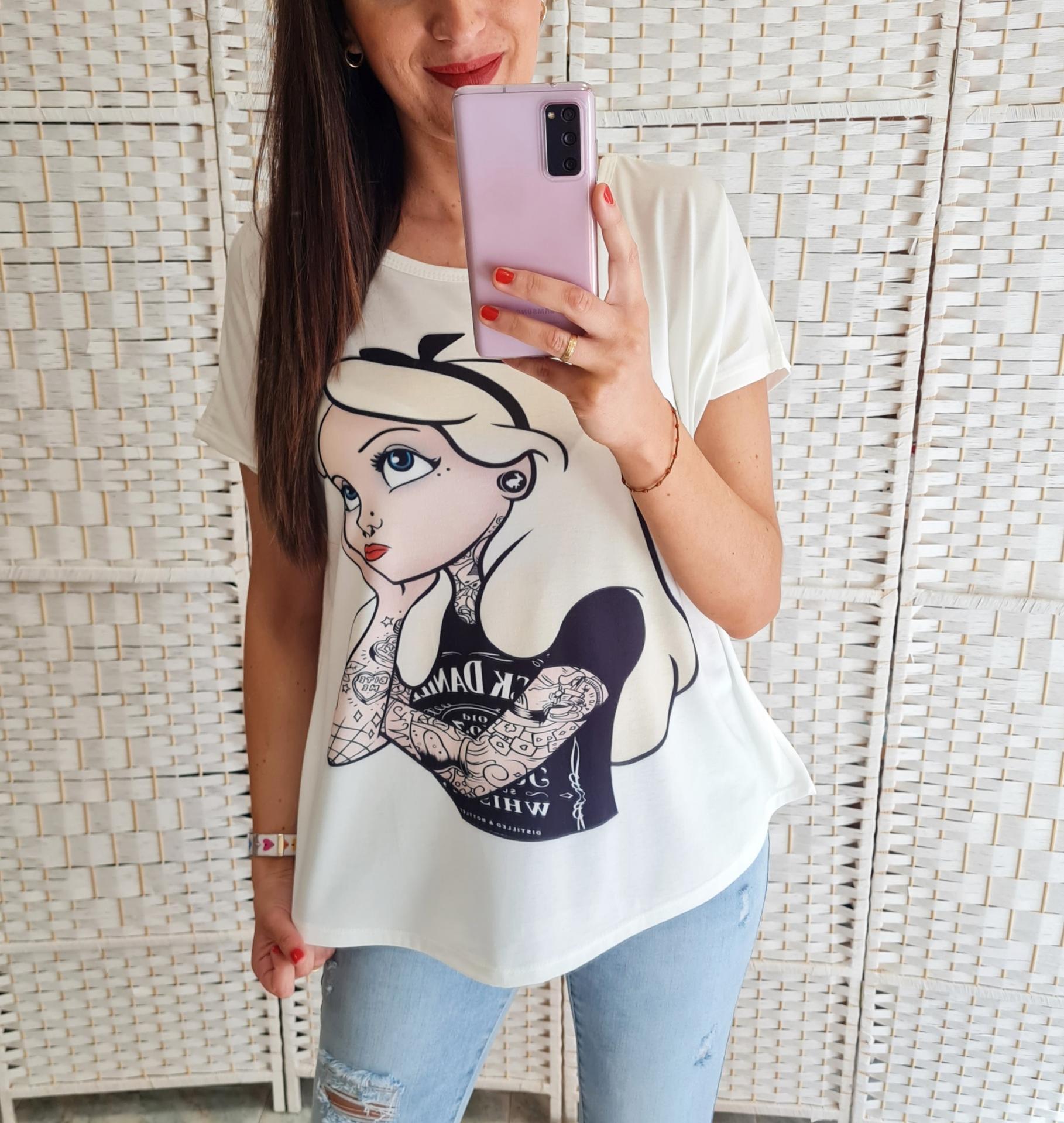 Camiseta Alicia Tattoo