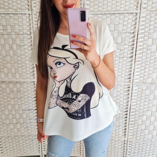 Camiseta Alicia Tattoo [0]