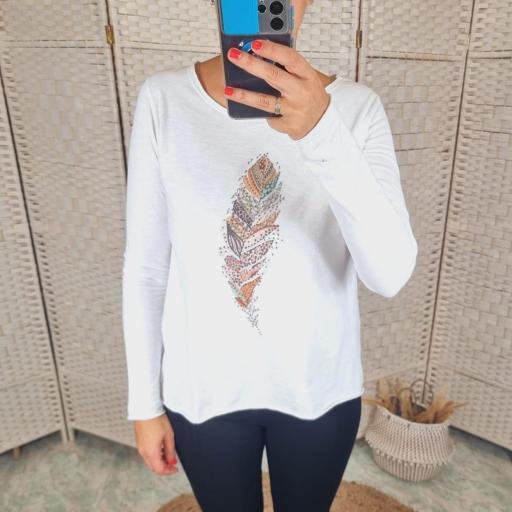 Camiseta Hoja [2]
