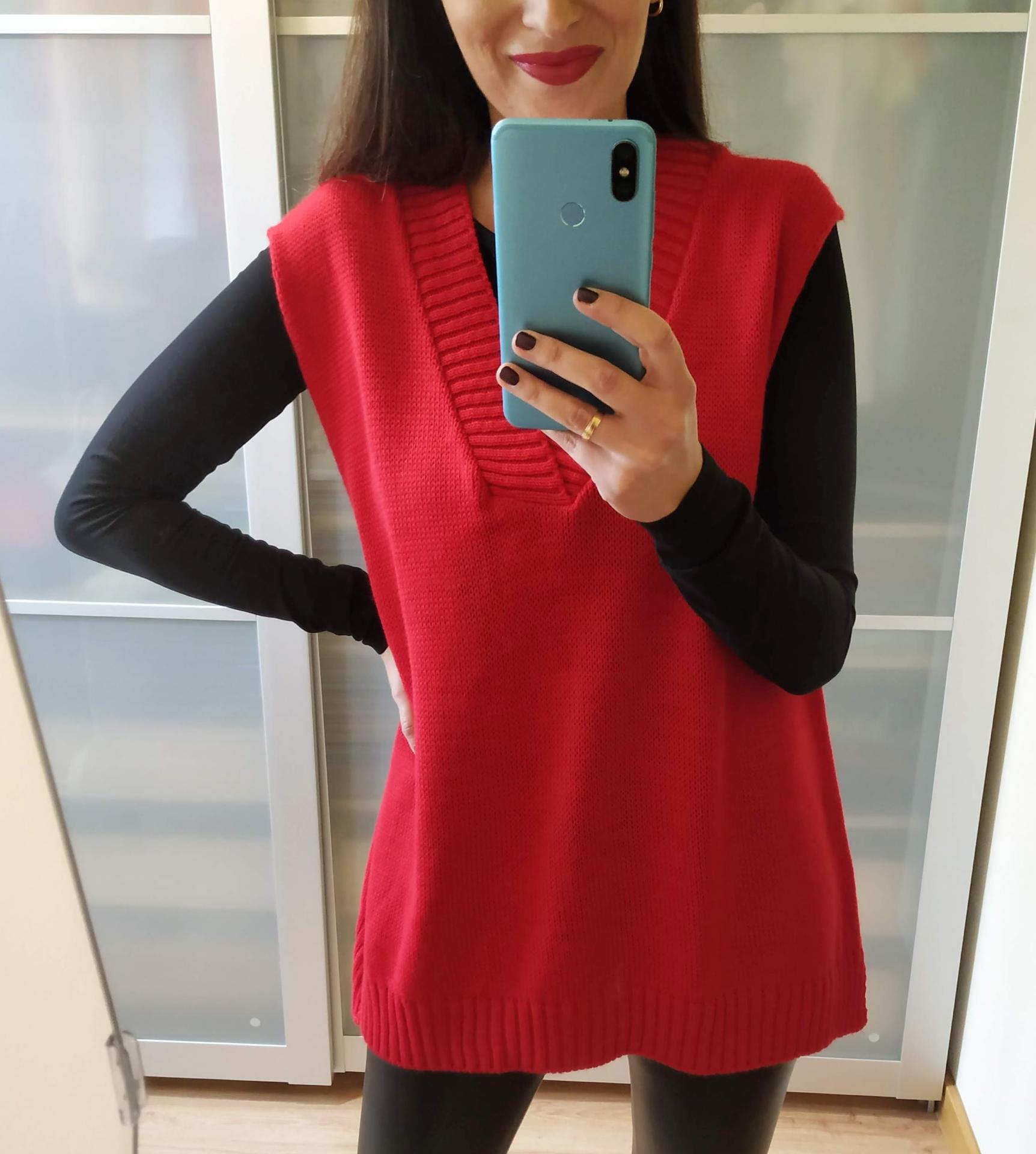 Chaleco Rojo