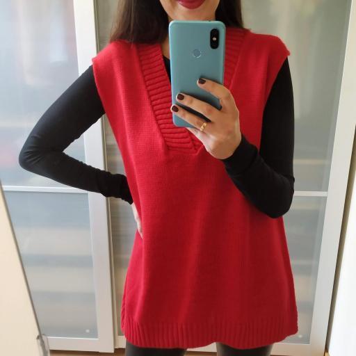 Chaleco Rojo [0]