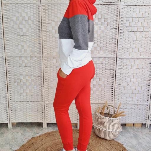 Chándal Tricolor Rojo [1]