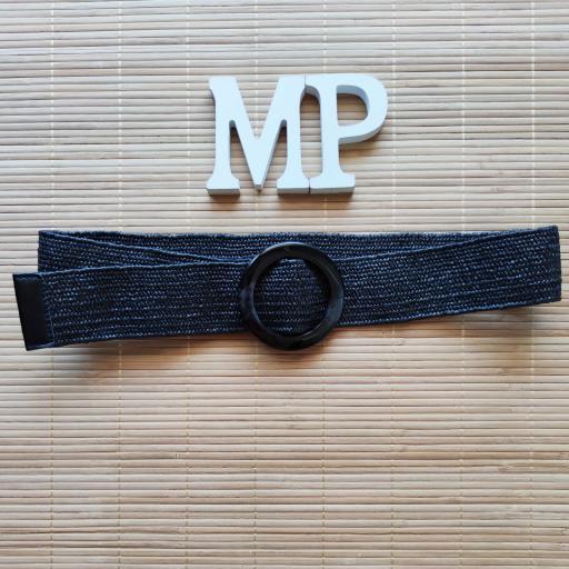 Cinturón Elástico Negro