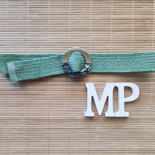 Cinturón Elástico Verde [1]