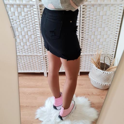 Falda Mini Negra [3]