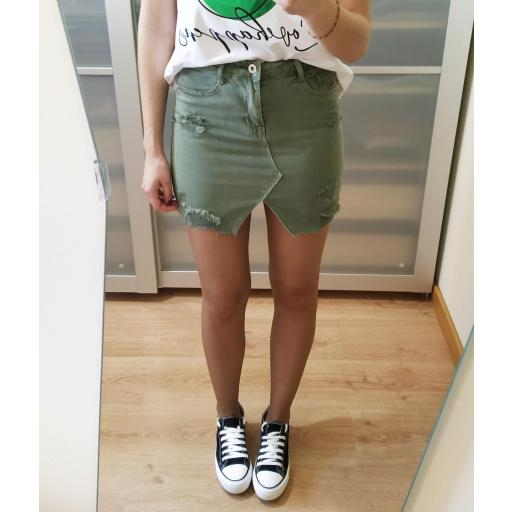 Falda Mini Verde [1]