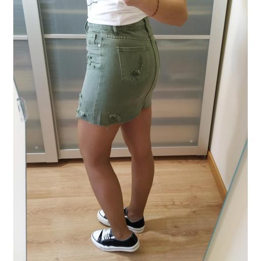 Falda Mini Verde [2]