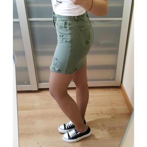 Falda Mini Verde [3]