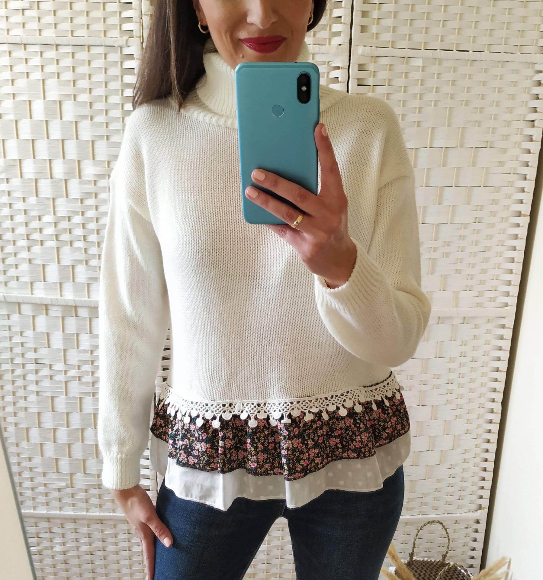 Jersey Blanco Borlas
