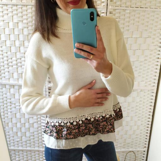 Jersey Blanco Borlas [3]