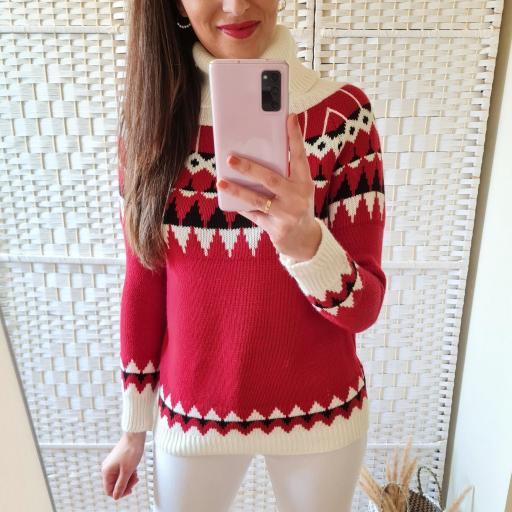 Jersey Nieve Rojo