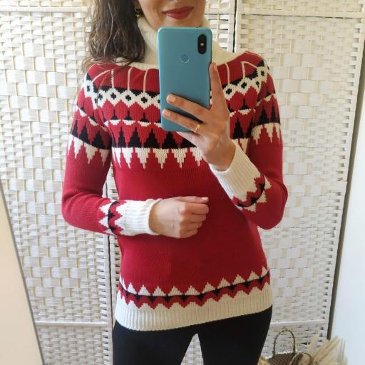 Jersey Nieve Rojo [2]