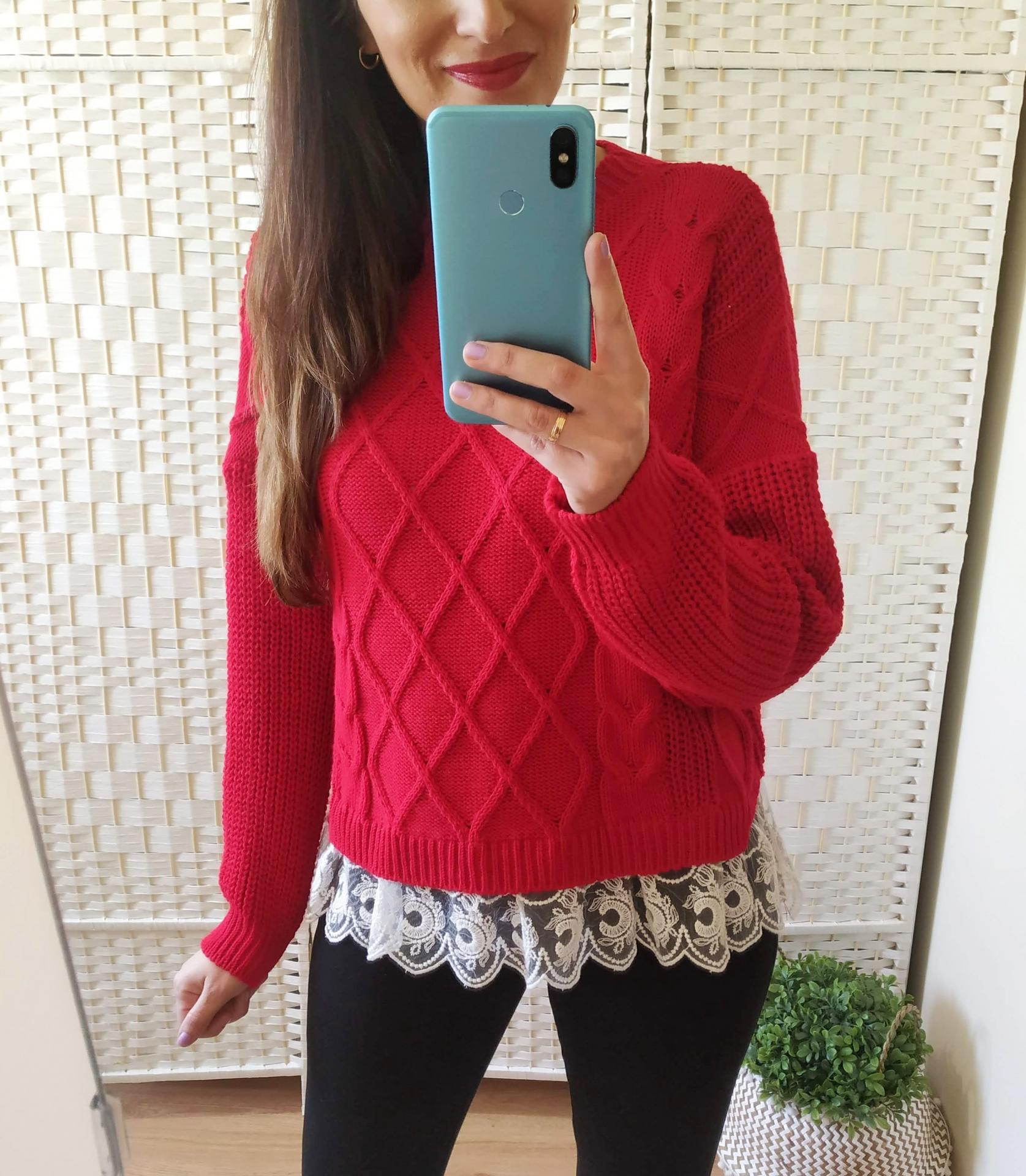 Jersey Rojo Puntilla