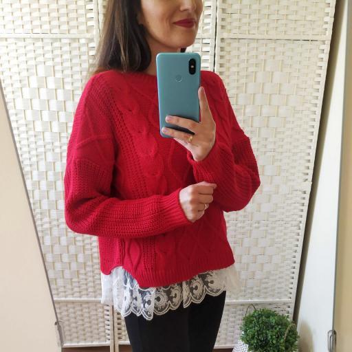 Jersey Rojo Puntilla [1]