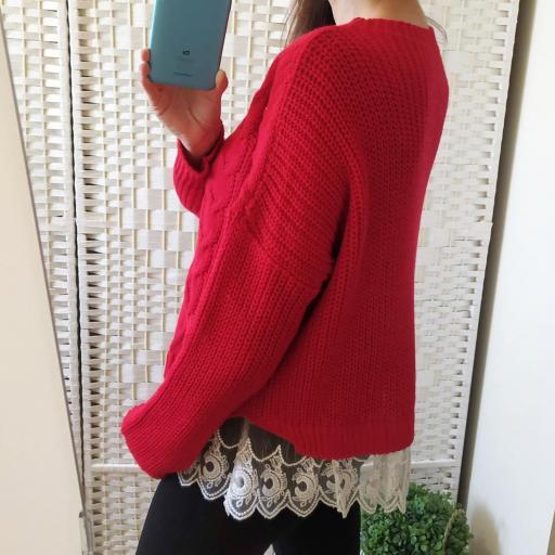 Jersey Rojo Puntilla [2]