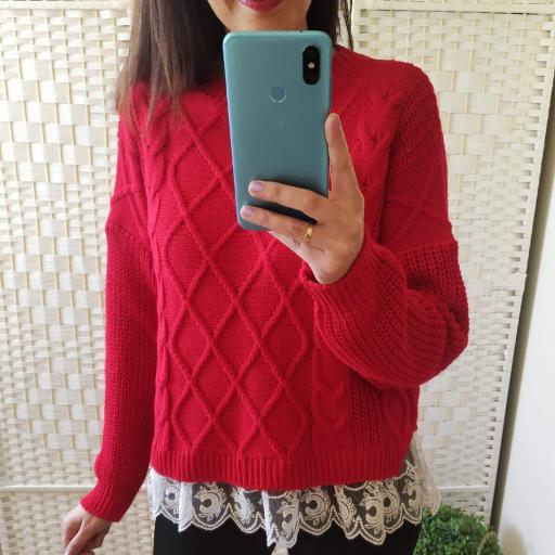 Jersey Rojo Puntilla [3]