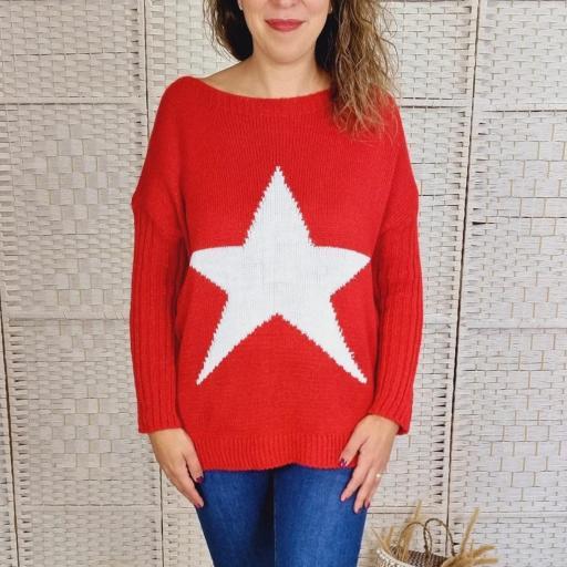 Maxi Jersey Rojo Star [3]