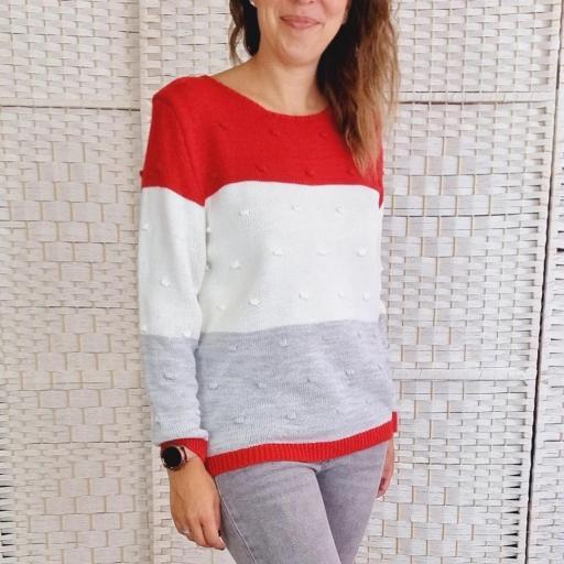 Jersey Tricolor Rojo Relieve [1]