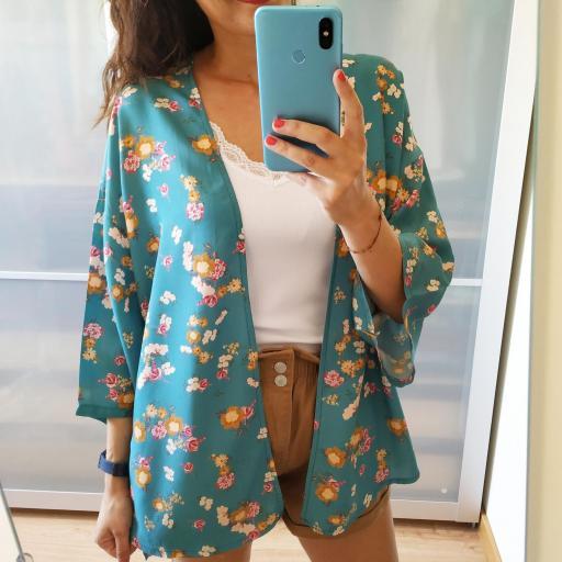 Kimono  Flores [0]