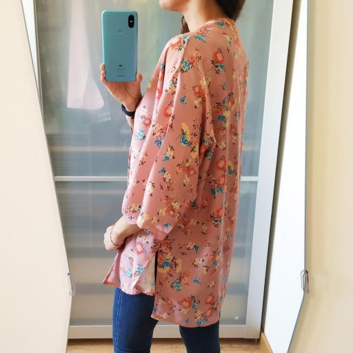 Kimono  Rosa Flores [2]