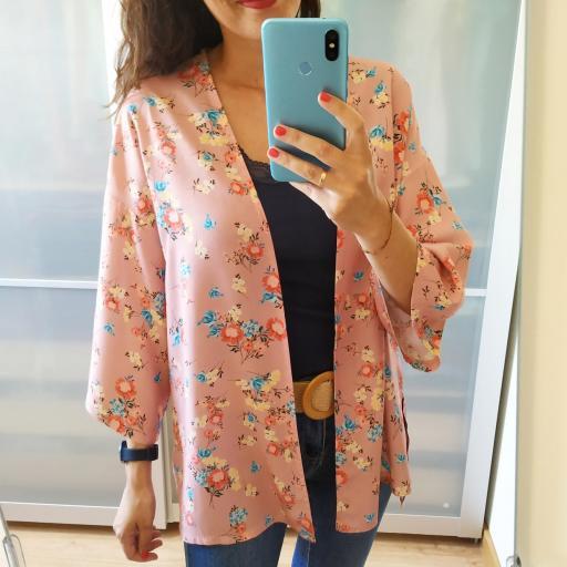 Kimono  Rosa Flores [3]