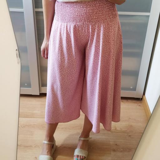Pantalón Culotte Rosa [3]