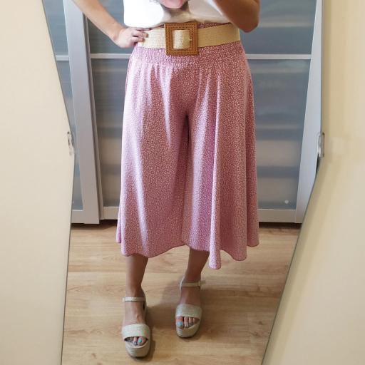 Pantalón Culotte Rosa [1]