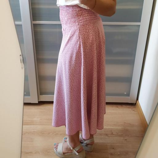 Pantalón Culotte Rosa [2]